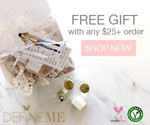 Welcome DefineMe, the Cruelty Free Fragrance Company, to beauty bulletins with Free Gift with $25.00 order. DefineMe's  doesn't add harmful chemicals to our products such as parabens, phosphates or petroleum. The fragrance oils are made in the USA. #oils #fragrance #madeinusa #mist #hairmist #fragrancemist #pefrume #freegift #GWP #giftwithpurchase #crueltyfree