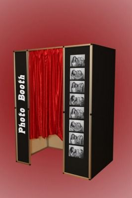 Photo Booth, partially paid for by Hurricane Bar and Grill will be free of charge.