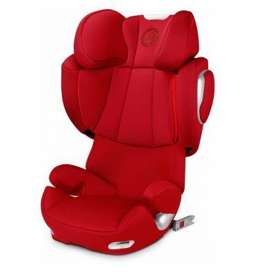 CYBEX SOLUTION Q2-FIX (ISOFIX) La nueva silla de auto Cybex Solution Q2-Fix incorpora los últimos avances en seguridad de Cybex. Esta silla de Grupo 2/3 incorpora un reposacabezas reclinable y se puede ajustar tanto en altura como en anchura para adaptarse perfectamente al cuerpo de cada niño. Además, la Solution Q2-fix cuenta con un sistema de proteción lateral avanzado.