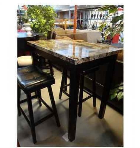Bar Table Chairs Set Crown Mark Alyssa 3 Piece Bar Table: 1000+ Ideas About Counter Height Chairs On Pinterest