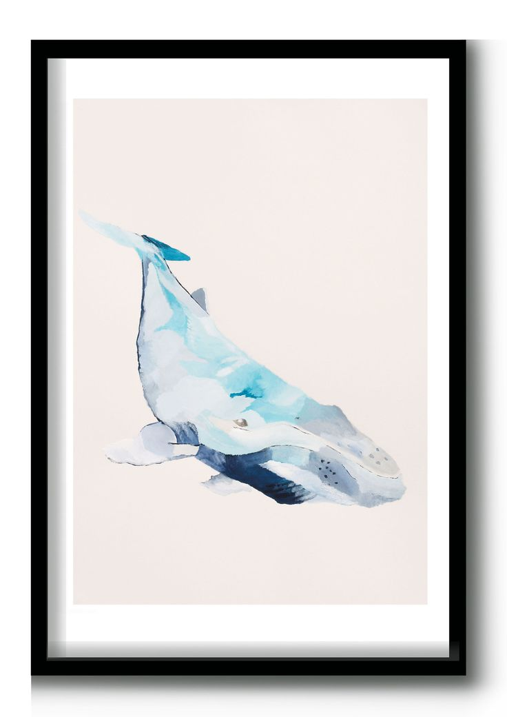 Humpback Whale Giclee Print - Limited Edition