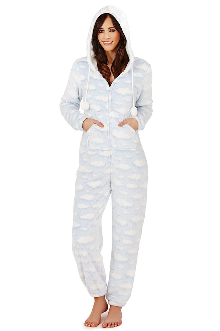 Boutique Womens Onesie New Ladies All In One Pyjamas Loungwear: Amazon.co.uk: Clothing