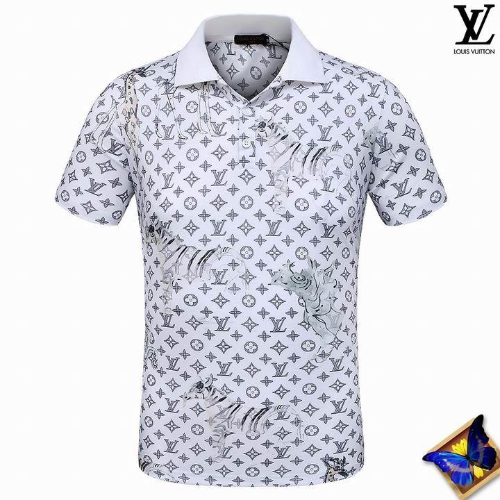 273326635 men s Louis Vuitton POLO shirts-LV15811