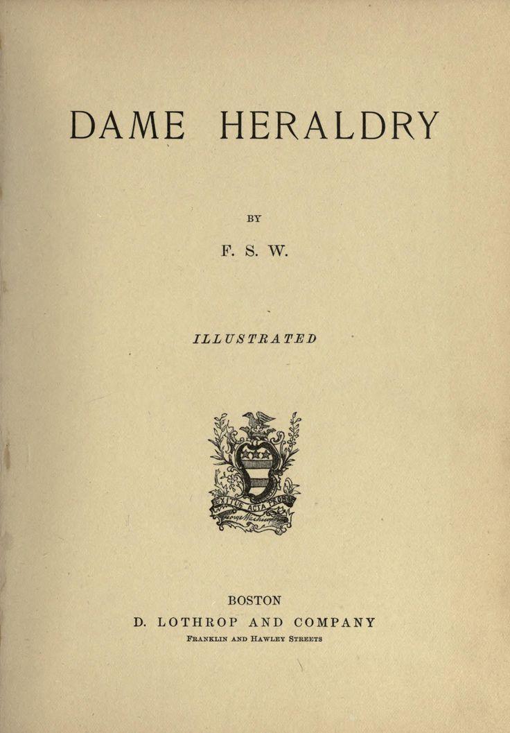 Dame heraldry