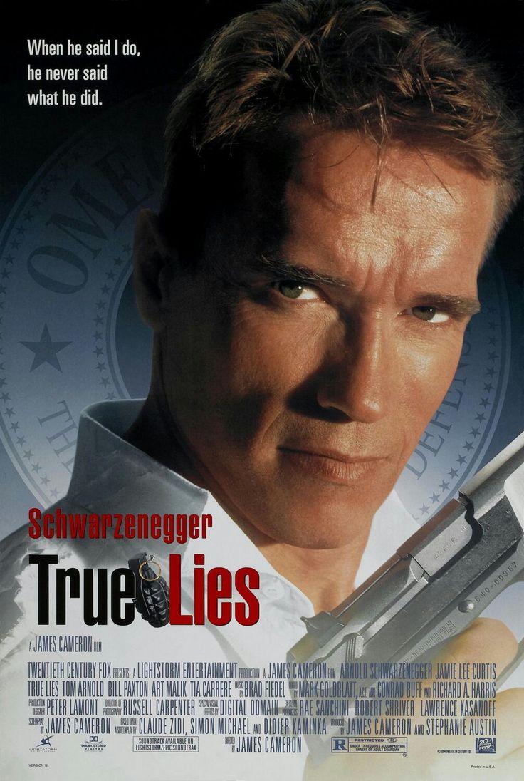 True Liesè unfilmdel1994diretto daJames Cameron, e interpretato daArnold Schwarzenegger,Jamie Lee Curtis,Tia CarrereedEliza Dushku.  Si tratta del terzo ed ultimo film figurante il duo Cameron-Schwarzenegger. Lasceneggiaturaprende spunto dalla storia di spionaggio francese (inedita in Italia)La Totale!, del1991.