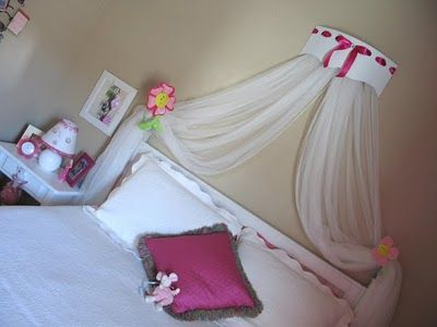 Inspiring Ideas with artist Jeanne Winters: New Girl's Bedroom Canopy