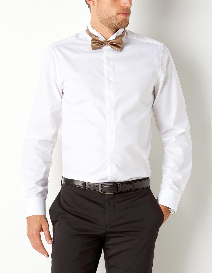 chemise col cassé Chemise classique