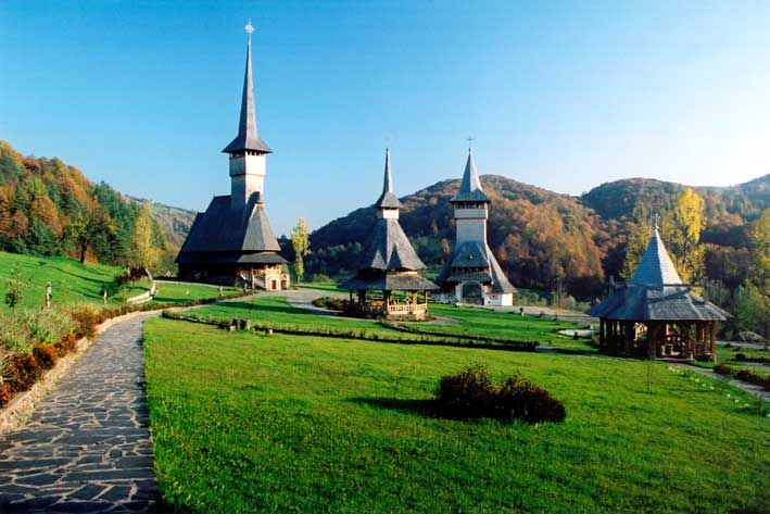 Barsana from Maramures, Romania!