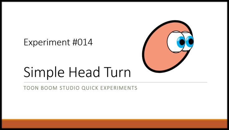 Learn to animate a very simple character head turn using Toon Boom Studio.