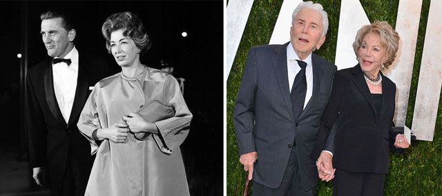 Kirk Douglas ve Anne Buydens