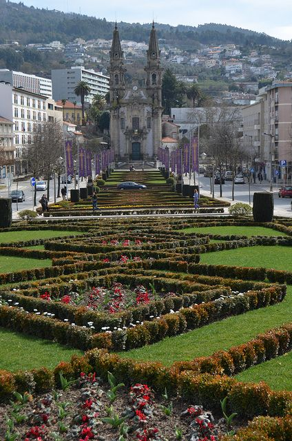 Walking down the Avenue - Braga, Portugal
