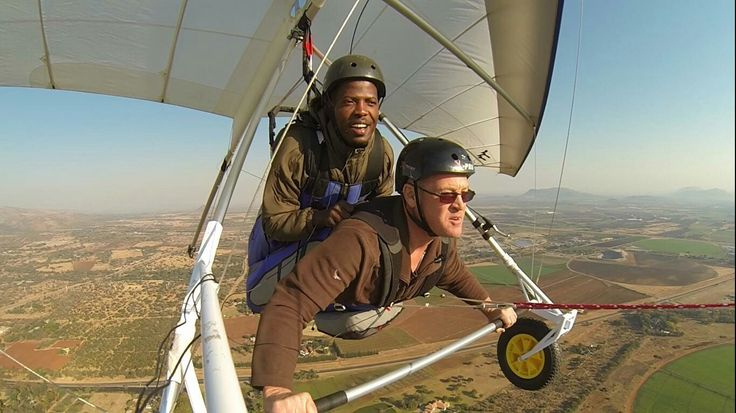 Tandem hang gliding with Mike Spike🚀
