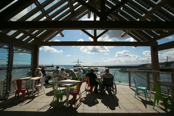 The Lookout is a modern, nautical themed cafe situated on Seaham Marina on the Durham Heritage Coast. Enjoy spectacular views and relax with home made hot snacks, scones, cakes and hot drinks all served with a smile.