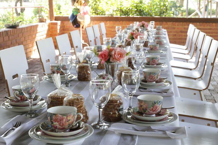 Rosemary Hill High Tea setup