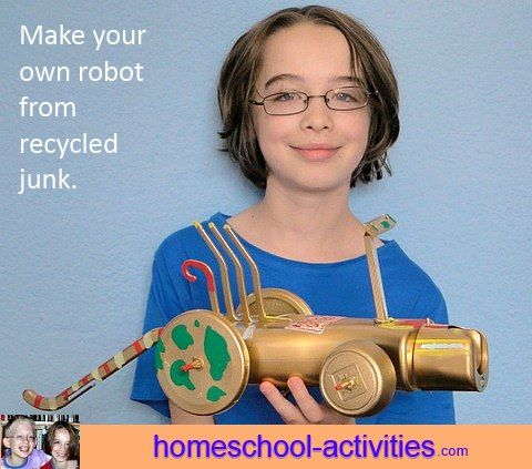 homemade robots how to make one