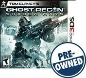 Tom Clancy's Ghost Recon: Shadow Wars — PRE-Owned - Nintendo 3DS