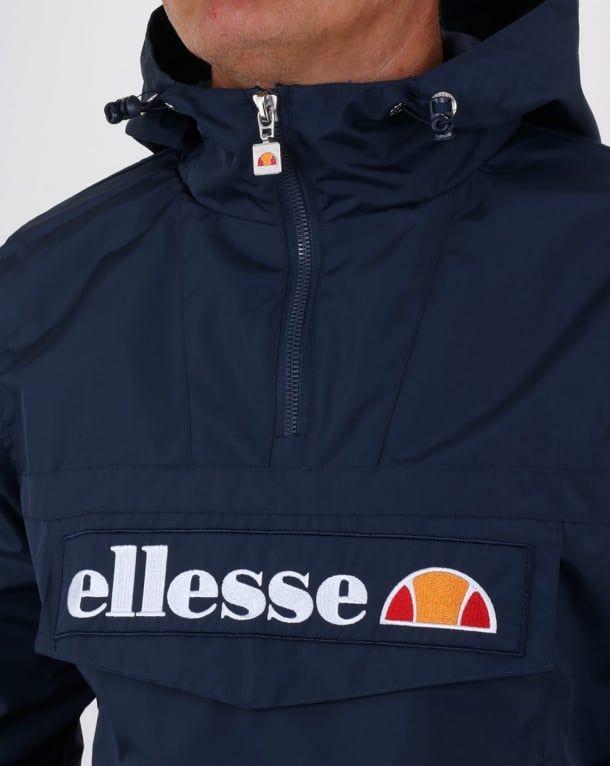 1983f2b9 Ellesse Mont II Jacket Navy Blue,smock,coat,overhead,mens ...