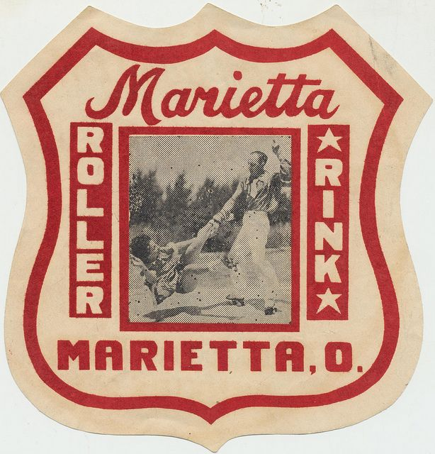 Marietta, Ohio Roller Rink by The Pie Shops Collection