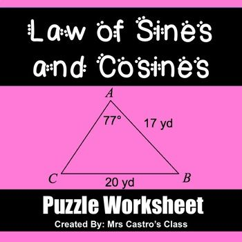 This product is also found AT A DISCOUNTED PRICE in the Geometry Puzzle Worksheets Growing Bundle This worksheet is a fun way for
