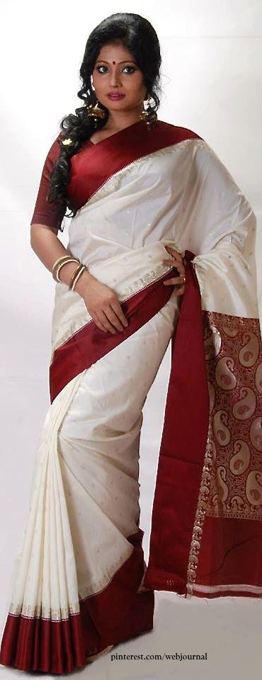 Korial silk - Handwoven sarees from Bengal from Parinita
