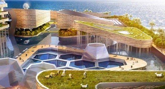 Vida-EcoVerde : Foating City: Ciudades flotantes como solución a l...