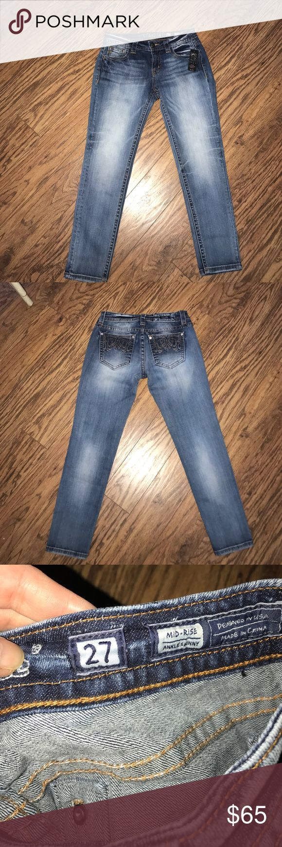 ❤️NWT Miss Me jeans❤️ Brand new Miss Me jeans Miss Me Jeans Ankle & Cropped