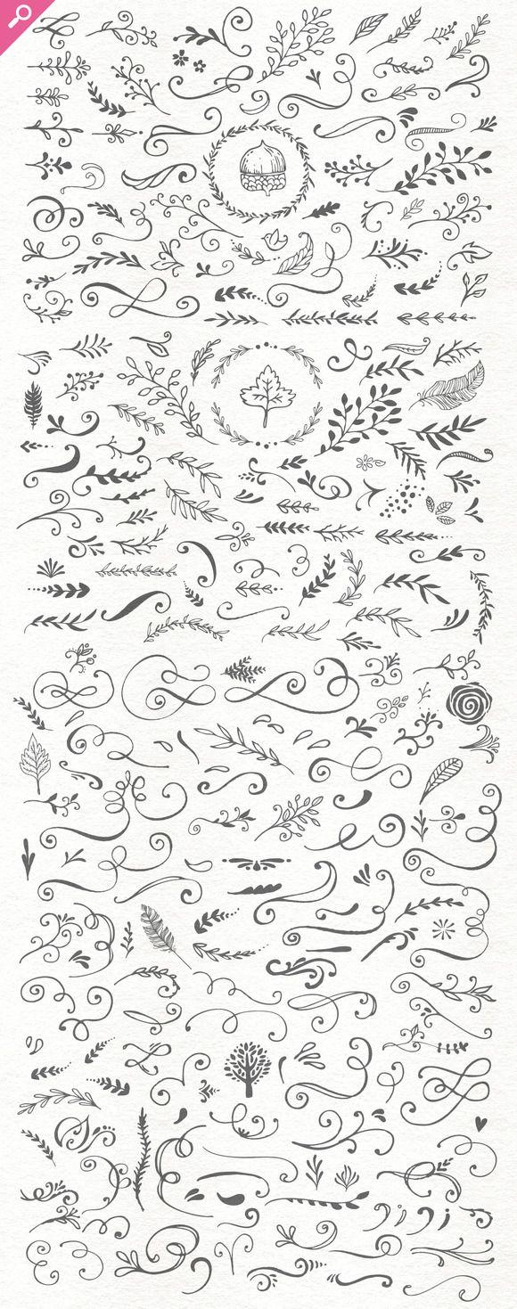 Handsketched Designer's Branding Kit by Nicky Laatz