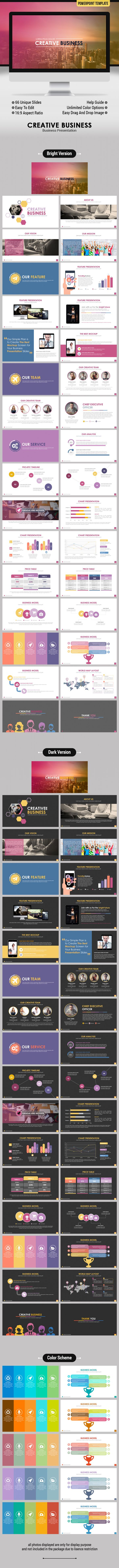 Creative Business PowerPoint Template #portfolio #mindmap #minimal • Click here to download ! http://graphicriver.net/item/creative-business-powerpoint-template/15823712?ref=pxcr
