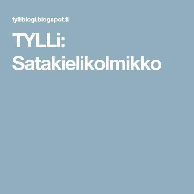 TYLLi: Satakielikolmikko