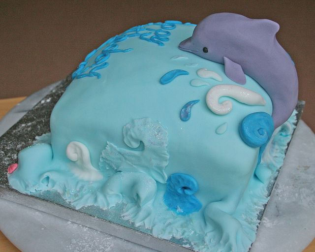 dolphin birthday cakes | Dolphin birthday cake - side view | Flickr - Photo Sharing!