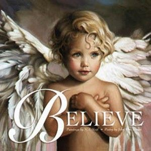 """NA Noel. Love this artist. Have a book by her and Payton used to stare at this angel named """"grace"""" when she was little."""