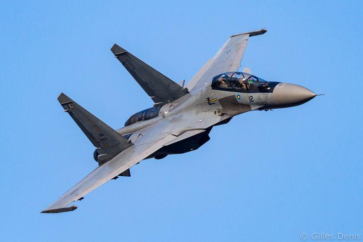 """Royal Malaysian Air Force Sukhoi Su-30MKM """"Flanker-H"""""""