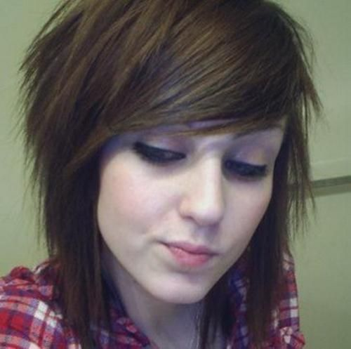 Scene Girl Haircuts Medium Length Scene Haircuts For Girls With