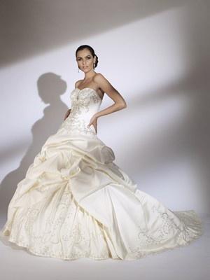 Pick up style wedding dresses