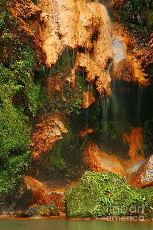 ✮ Caldeira Velha Natural Monument - Sao Miguel island, Azores islands, Portugal