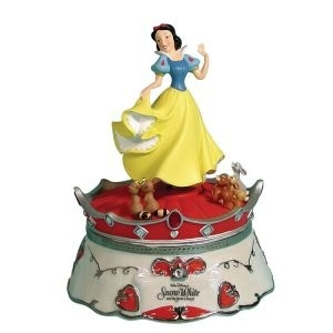 Snow White's Dance Music Box: Dance Music, White S Dance, Musical Figurines Boxes, Music Boxes