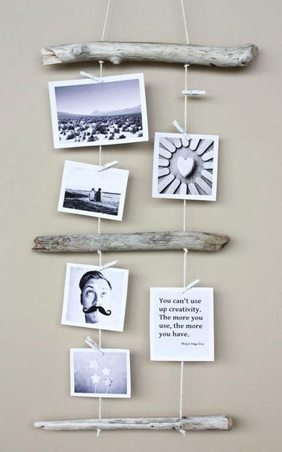 Las 25 mejores ideas sobre colgar fotos en pinterest - Sistemas para colgar cuadros ...