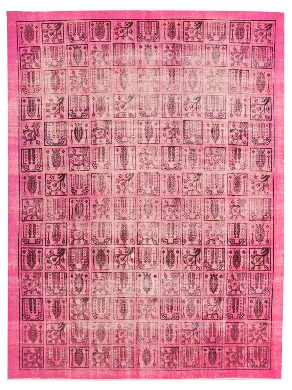 Persian Bubble pink Vintage carpet.  www.vintagecarpets.com
