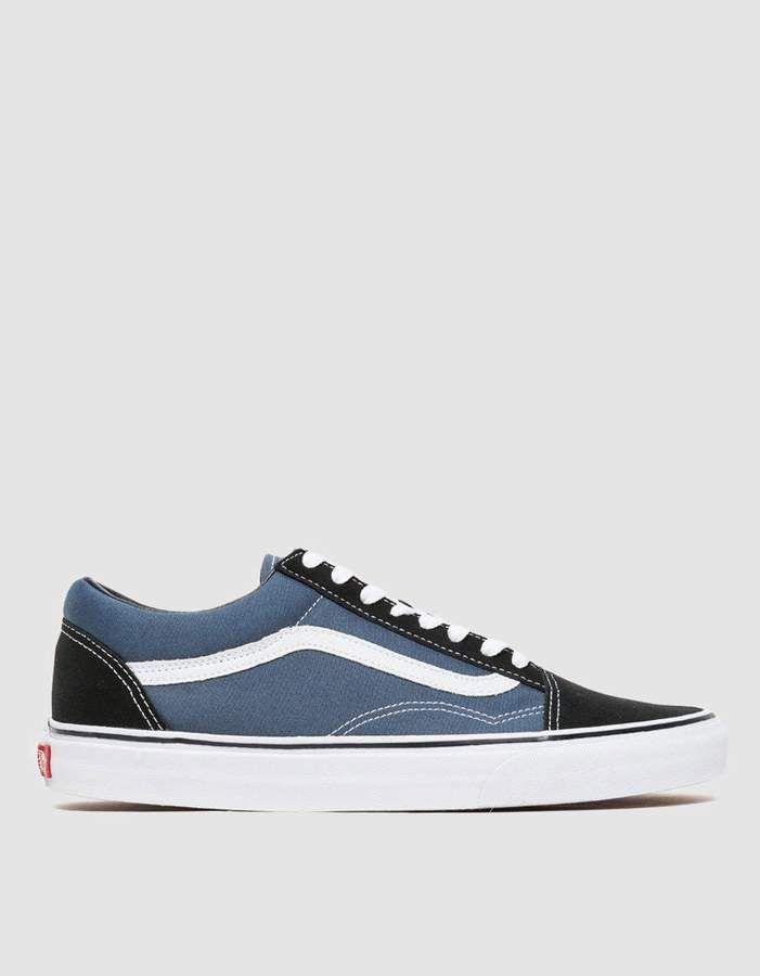 Navy   Vans old skool, Mens vans shoes
