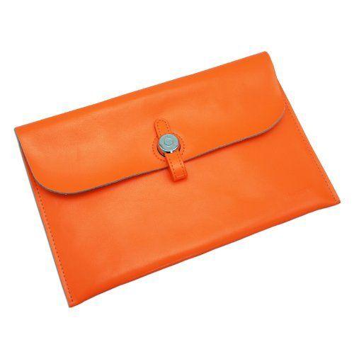 Gary & Ghost Samsung NOTE 8.0 / Google Nexus 7 FHD 2nd Gen/ Samsung Tab2 7-inch - Stylish Genuine Leather Envelope Carrying Case Sleeve with Fashionable Strap Buckle Closure (Orange) by D-Park, http://www.amazon.co.uk/dp/B00IJVBJVG/ref=cm_sw_r_pi_dp_Uyjvtb11EASMM