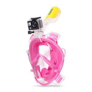 a kuokel full face anti niebla gafas natacion buceo snorkel mascara de buceo lxl rosa