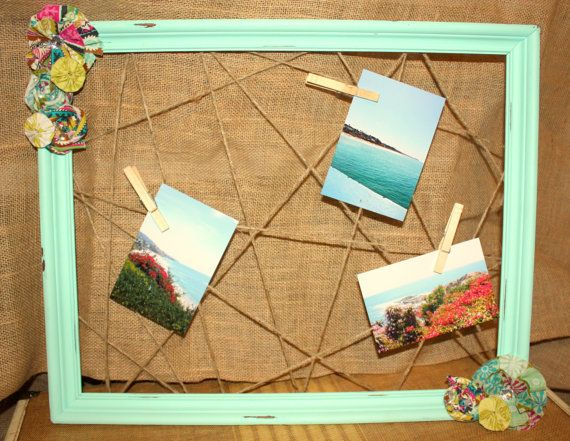 Darling Bulletin Board Great For Hanging Pictures And