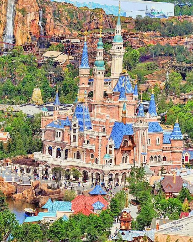 The Shanghai Disney Resort  June 16, 2016