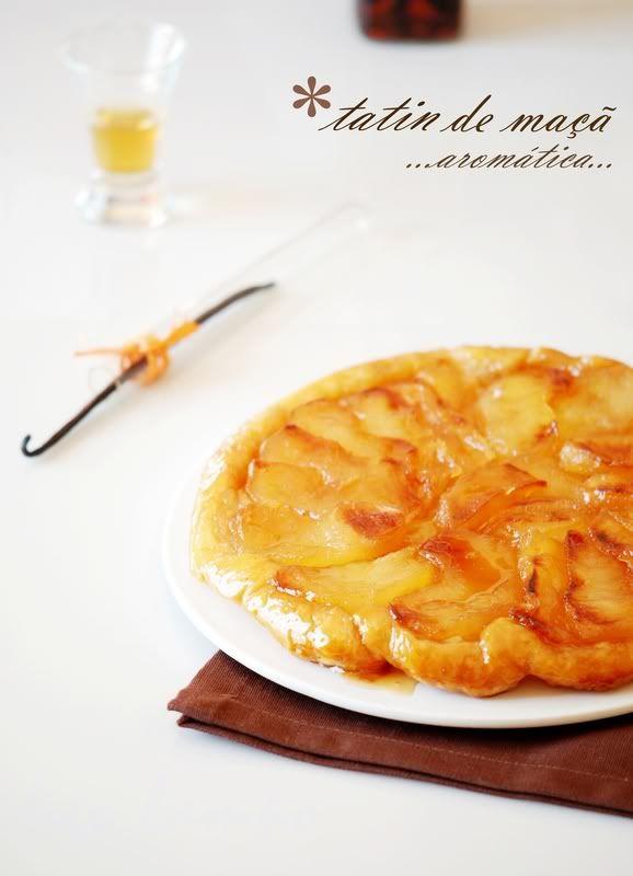 figo lampo: Tarte tatin de maçã. aromática...