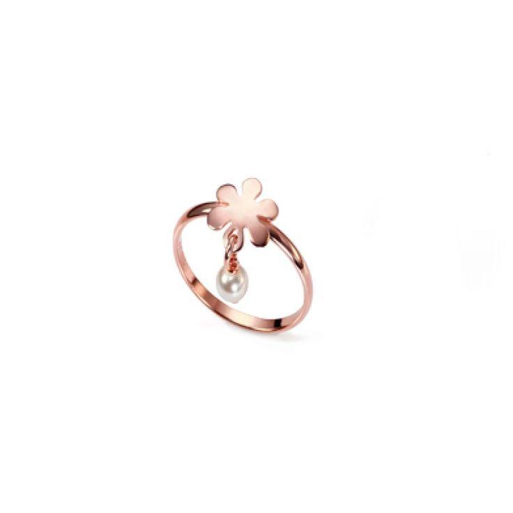 Anillo plata rosa Viceroy - 25€
