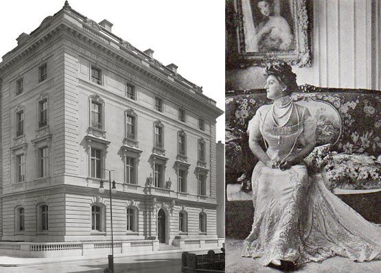 The Gould Mansion on Fifth Avenue. The Gould Family never really made it onto The 400, despite all Edith Gould's attempts. She had their grand mansion in New York City built with her husband's endless fortune, purchased the finest jewels in the world and threw the most lavish parties, all of which was in vain. She never made the list.