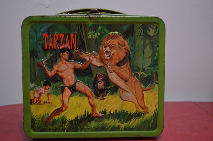 Tarzan Tin Lunch Box http://cnctbay.wix.com/crowe-s-nest