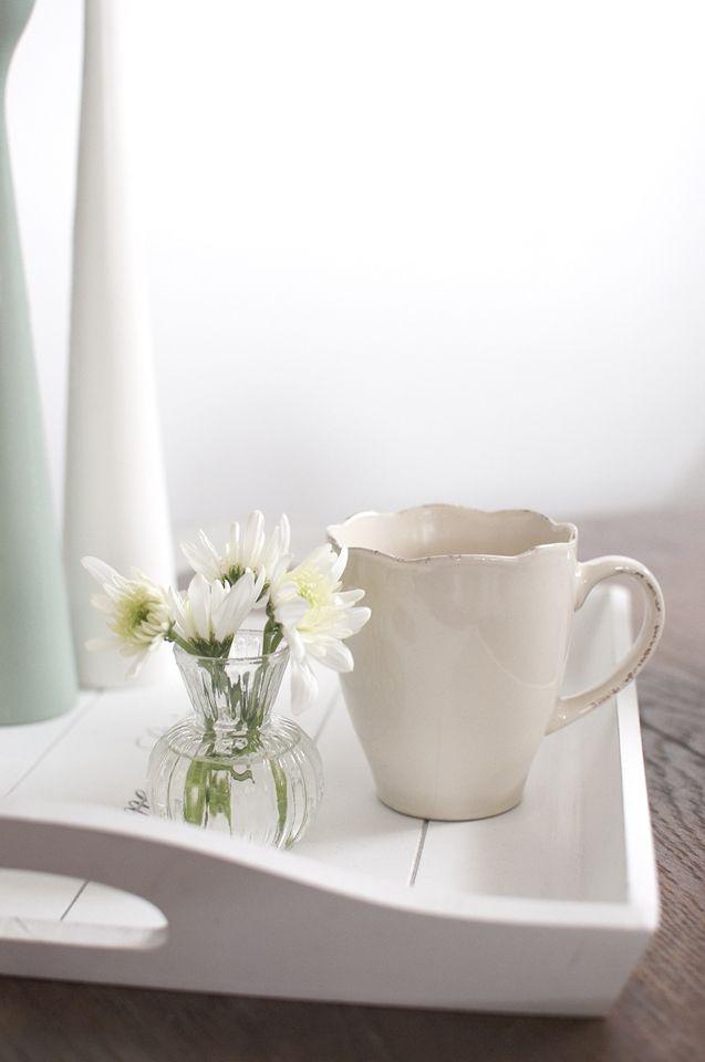 White ⋆ Interior ⋆ Simple ⋆ Flowers ⋆ Simplicity ⋆ Scandinavian ⋆ Candleholder ⋆ Freemover ⋆ Rolf