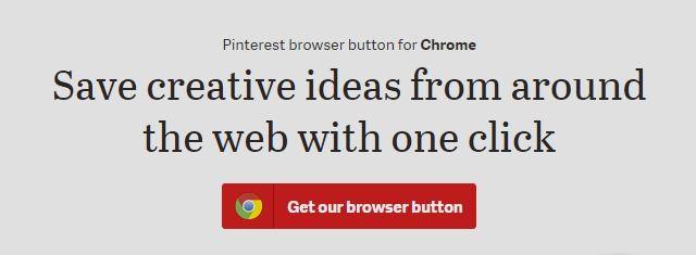 how to delete pinterest button chrome