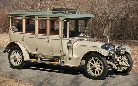 STRANGE OLDE CLASSIC VEHICLES - 1912 ROOLS ROYCE DOUBLE PULLMAN LIMOUSINE - 40 HP!
